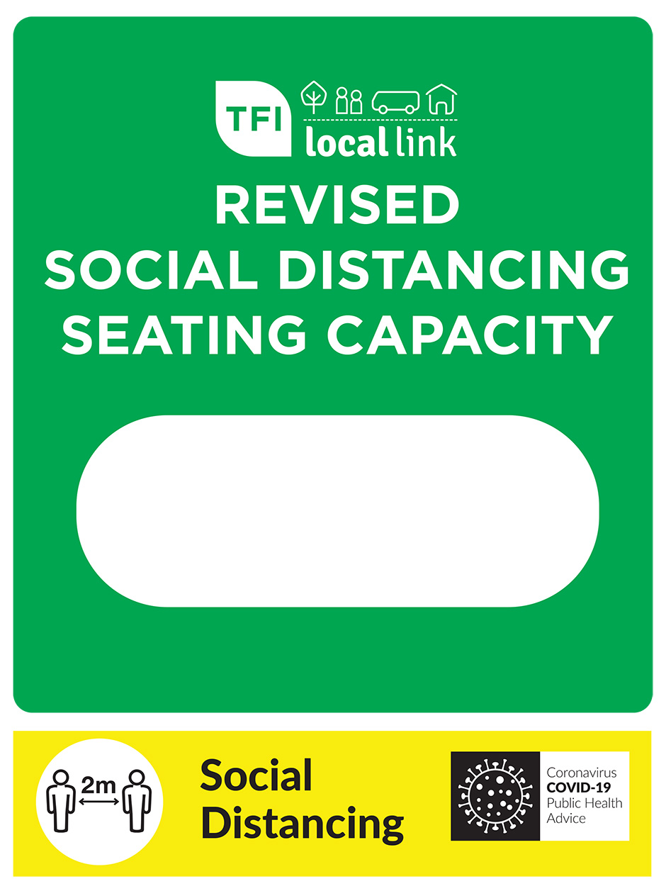 Social Distancing Seating poster